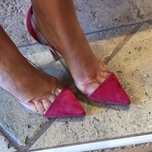 Authentic Gianvito Rossi Fuchsia 39